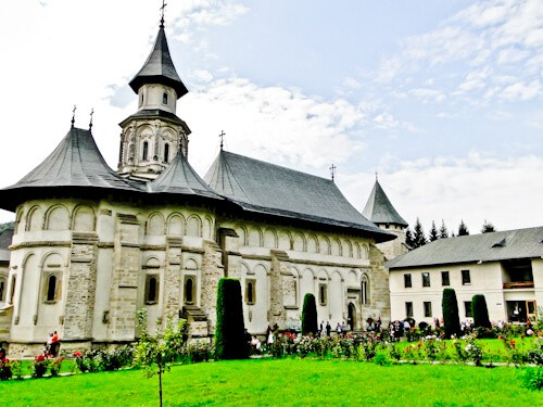 Suceava Romania - Putna Monastery