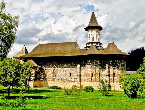 Suceava Romania - Sucevita Monastery