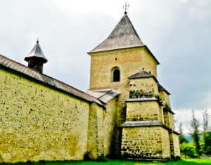 Sucevita Monastery defensive walls