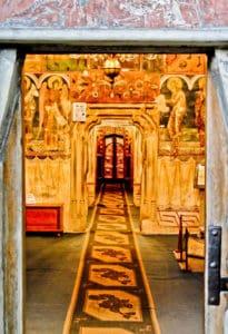 Voronet Monastery Interior, Suceava