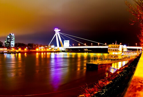 Things to do in Bratislava - UFO Bridge