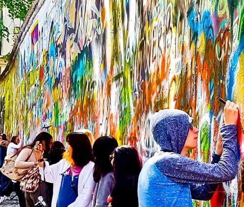 Things to do in Prague, Czech Republic - John Lennon Wall