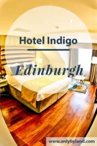 A travel blogger review of the Hotel Indigo Edinburgh, York Place in the Scottish capital, Edinburgh