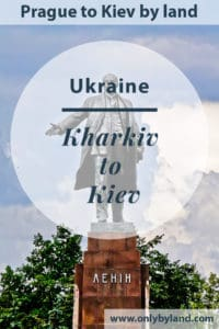 Kharkiv to Kiev by bus