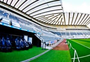 St James' Park Newcastle United Stadium Tour - Pitch Side