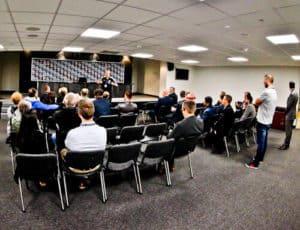 St James' Park Newcastle United - Stadium Tour - Media Room