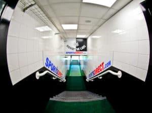Newcastle United Stadium Tour - St James' Park - Players tunnel