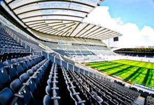 St James' Park Newcastle United Stadium Tour - VIP area