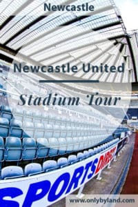 A stadium tour of St James' Park, the home of Newcastle United Football Club