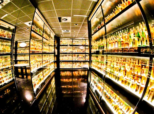 The largest private collection of Scotch whisky in the world, Scotch Whisky Experience, Edinburgh