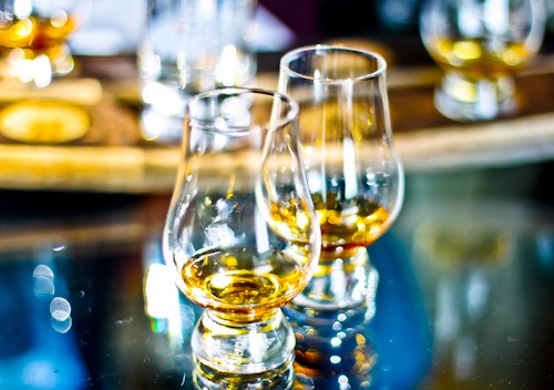 Whisky tasting - Morning Master Class at the Edinbught Scotch Whisky Experience