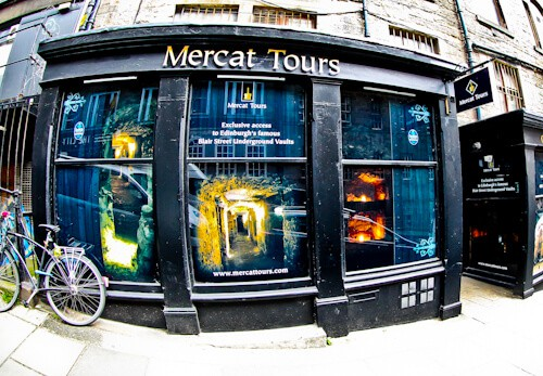 Mercat Tours, Blair Street ticket office