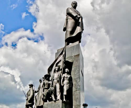 Former Lenin Statue, Kharkiv, Ukraine