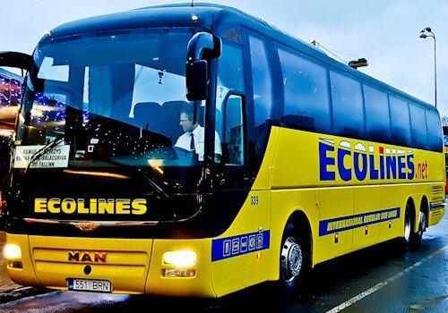 Bus from Kharkiv to Kiev, Ukraine