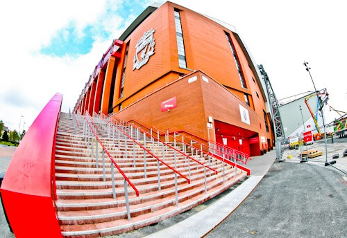Anfield, Liverpool FC - Location