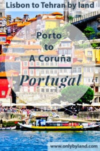 A visit to the points of interest of Porto including UNESCO historic center, Dom Luis I Bridge and Maria Pia Bridge, Monastery of Serra do Pilar, Lello Bookstore (Livraria Lello), Porto Stock Exchange Palace (Palacio da Bolsa), Sao Bento railway station, Porto Cathedral, Port at Vila Nova de Gaia, Carmo and Carmelitas churches, Porto Sign before taking the bus to A Coruña, Spain