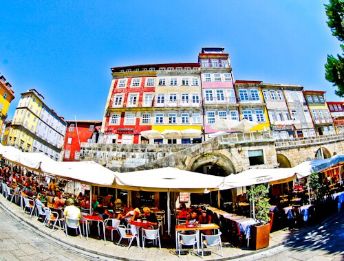 Porto UNESCO Historic City and colorful houses