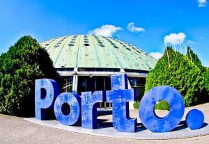 Things to do in Porto Portugal - Porto Sign at Crystal Palace