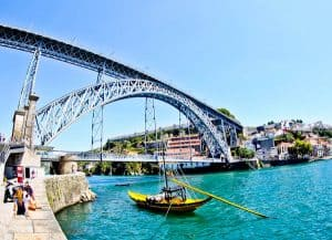 Things to do in Porto Portugal - Dom Luis I Bridge