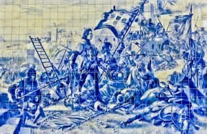 Things to do in Porto Portugal - Azulejos in Sao Bento Train Station