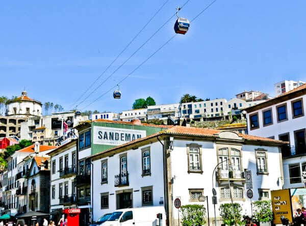 Things to do in Porto Portugal - Cable Car over Vila Nova de Gaia