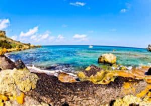 San Blas Bay, Gozo Malta
