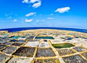 Salt Pans, Gozo Malta