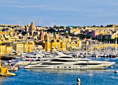 Grand Harbor View from Valletta, Malta