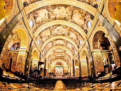 Things to do in Valletta - Malta - Saint John's Co-Cathedral
