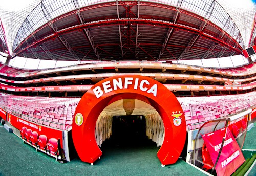 Benfica Stadium Tour - Estadio da Luz players tunnel