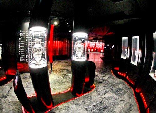 Benfica stadium tour - Estadio da Luz - museum