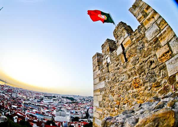Things to do in Lisbon Portugal - Sao Jorge castle