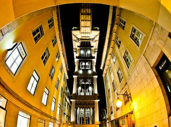 Things to do in Lisbon Portugal - Santa Justa Lift