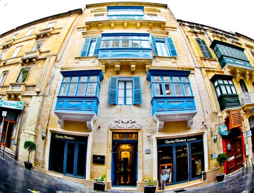 Valletta Hotels - The Saint John Boutique Hotel - Malta - Location