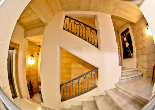 Valletta Hotels - The Saint John Boutique Hotel - Malta - Instagram Worthy Stairway