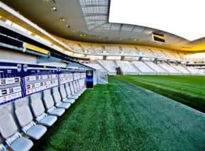 Bordeaux Matmut Atlantique Stadium Tour - Pitch side