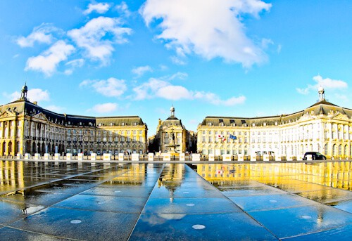 Place de la Bourse, Bordeaux France