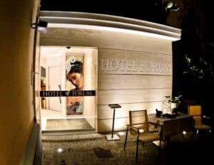 Hotel Forum Pompei - check in