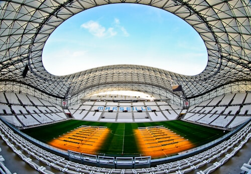 Olympique de Marseille, Orange Velodrome, Stadium tour, stadium