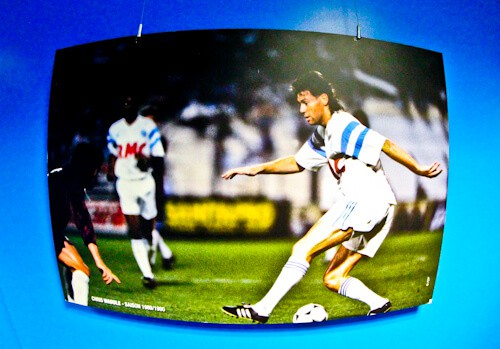 Olympique de Marseille, Orange Velodrome, Stadium tour, Chris Waddle