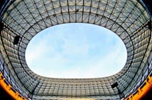 Olympique de Marseille, Orange Velodrome, Stadium tour, stadium roof