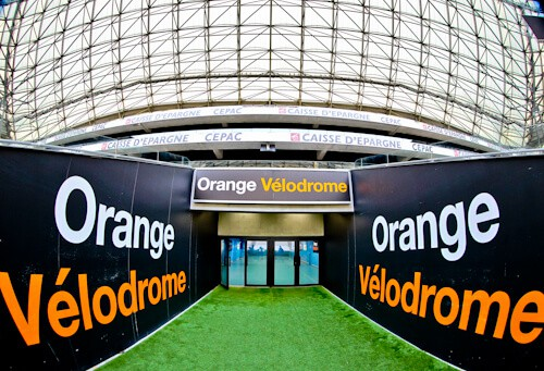 Olympique de Marseille, Orange Velodrome, Stadium tour, players tunnel