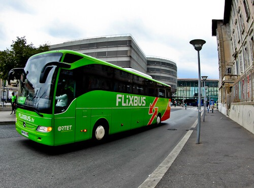 bus from Marseille to Nice - Flixbus