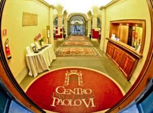 Centro Pastorale Paolo VI Brescia - check in