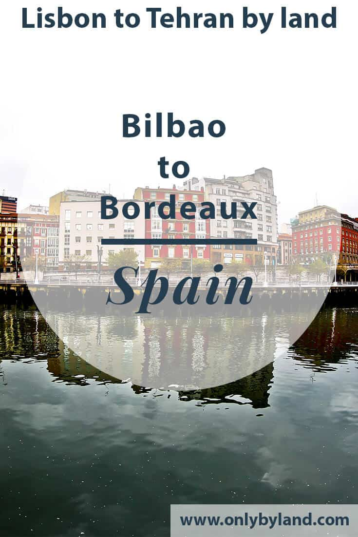 Bilbao to Bordeaux by bus