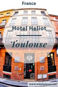 Hotel Heliot is a boutique hotel located in Toulouse, France. The hotel is a 19th century French mansion and you can walk to all makor points of interest of Toulouse from here.