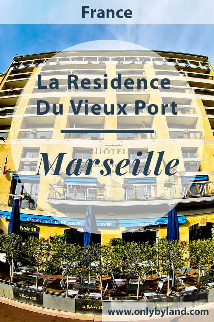 Hotel La Residence Du Vieux Port, Marseille, Travel Blogger Review