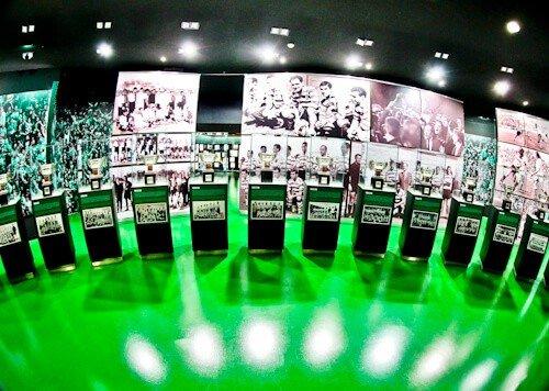 Sporting Lisbon stadium tour, museum
