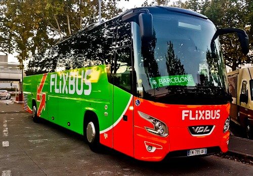 Flixbus from Bordeaux to Toulouse, France