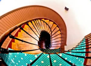 Hotel Heliot Toulouse, Staircase